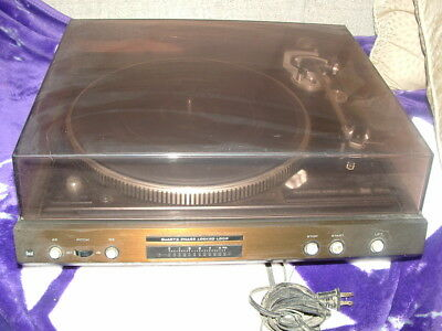 Vintage Dual CS 731Q Electronic Direct Drive Turntable Made in Germany