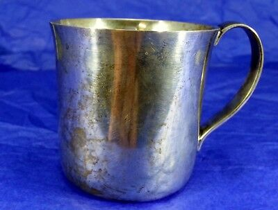 Heavy Tiffany Sterling Silver Child's Cup   No Reserve! (Monogrammed)