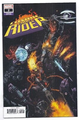 (2018) Cosmic Ghost Rider #2 Zaffino Retailer Incentive Variant Cover Nm