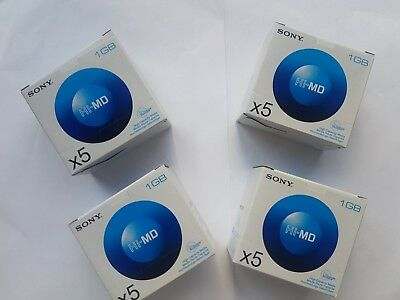 SONY Hi-MD 4 New sealed pack(20pcs)