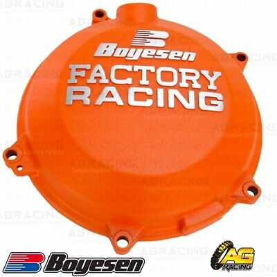 Boyesen Factory Racing Orange Clutch Cover For KTM SXF EXCF 450 Husqvarna FC FE