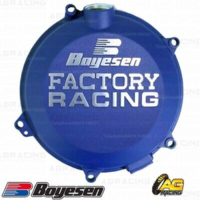 Boyesen Factory Racing Blue Clutch Cover For Husqvarna FC 450 2019