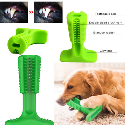 Dog Toothbrush Pet Brushing Stick Teeth Cleaning Chew Toy Large Dog Pet Oralcare