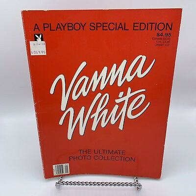 A Playboy Special Edition Vanna White The Ultimate Photo Collection 1987