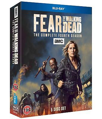Fear The Walking Dead Season 4 Blu Ray Region B