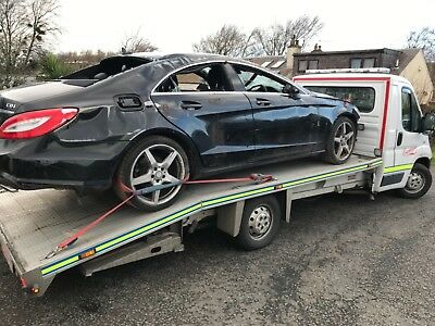 Mercedes-Benz CLS 250 CDi AMG, 2013, Spares or Repair , Salvage,Non-Recorded