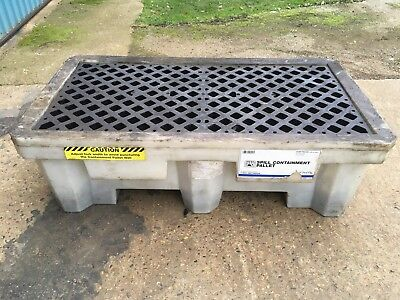 Plastic Spill Containment Sump Bunded Pallet