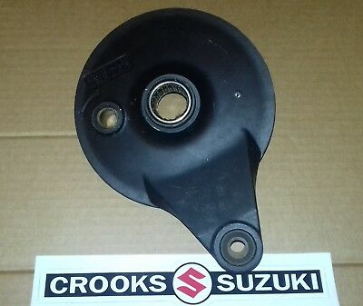 NOS 64210-40200 RM100 / RM125 Genuine Suzuki Rear Brake Plate
