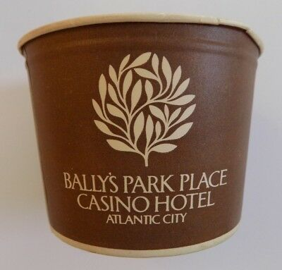Bally's Park Place Hotel Casino Coin Cup Paper Slots Atlantic City HTF Rare