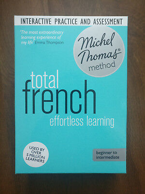 6cba7b935af70 Learn Michel Thomas Method. Total French. Beginner to Intermediate. 7 CD +  CDrom
