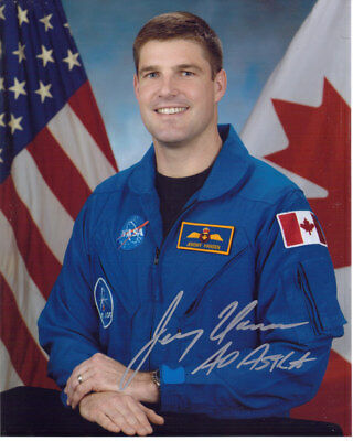 Jeremy Hansen Canadian Nasa Astronaut Signed 8X10 Photo With Coa