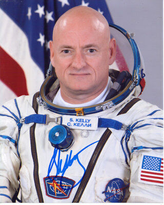 Scott Kelly Nasa Astronaut Signed 8X10 Photo With Coa