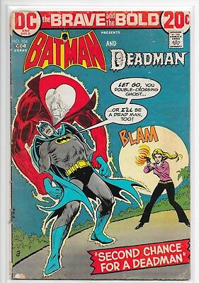 99¢ Comic - DC The Brave and the Bold Presents Batman & Deadman Issue #104 12/72