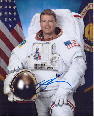 Gregory Wiseman Nasa Astronaut Rare Signed 8X10 Photo With Coa