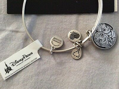Alex And Ani Disney Anna and Elsa Frozen Silver Bracelet RETIRED New With Tags