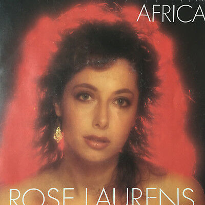 Rose Laurens - Africa - french version - WEA France - 1982