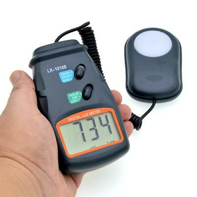 High Accuracy 50000 Lux Digital LCD Light Meter Photometer 3 Range Luxmeter