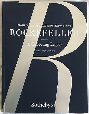 SOTHEBY'S NY - Nelson & Happy Rockefeller A Collecting Legacy - January 18, 2019
