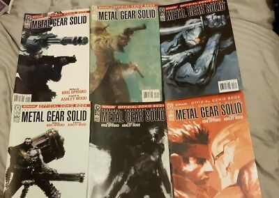 Metal Gear Solid official Comic complete 1-12
