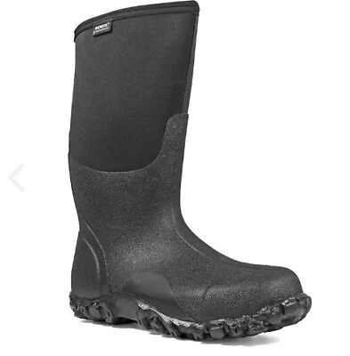 NEW BOGS Classic High Men's Insulated Boots Size: 10 Black Rated: -40 degrees