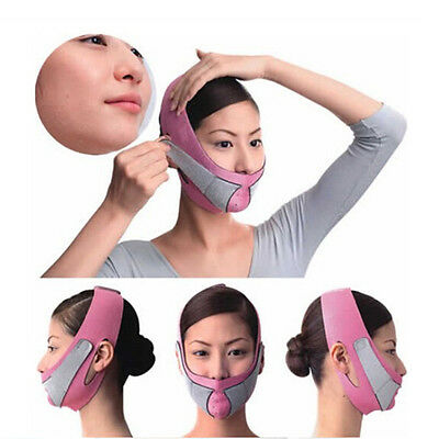 Anti-Falten-Half Face Lift V Gesicht Linie Slim Up Abnehmen Cheek Mask Strap PAB