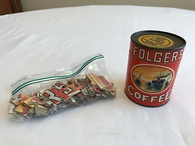 Folger's Coffee Promotional Puzzle In Original Container