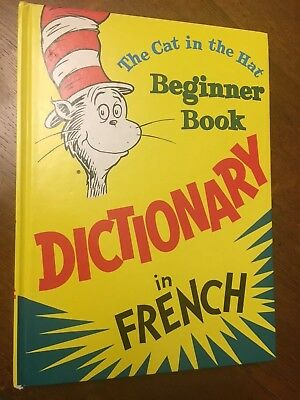 Dr Seuss Children's French Picture Dictionary