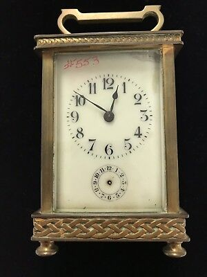 Carriage Clock Antique French