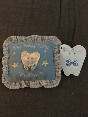 BOY TOOTH FAIRY PILLOW New With Tags.