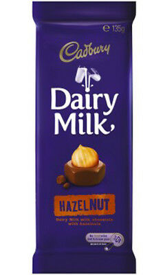 Cadbury Hazelnut Block (10 x 135g blocks)