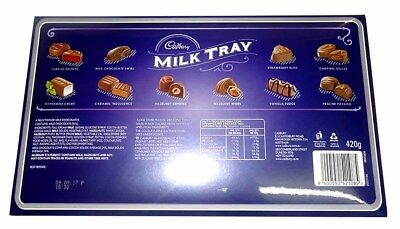 Cadbury Milk Tray Large (420g tray x 6pc box)