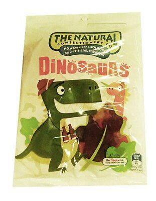 The Natural Confectionery Co. - Dinosaurs (260g bag x 18pc box)