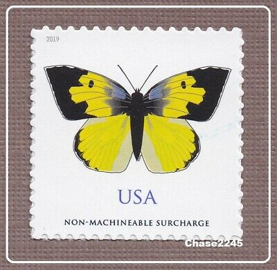 *NEW* 2019 Calif. Dogface Butterfly (NonMachine Rate - 2oz) 2019 Mint NH Single