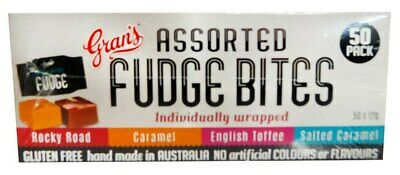 Gran's Fudge Bites - Assorted (12g x 50 wrapped in a display box)