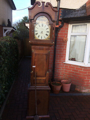 Antique Long Case FORD of NEWTOWN Grand father clock..Wales, Welsh Clocksmith