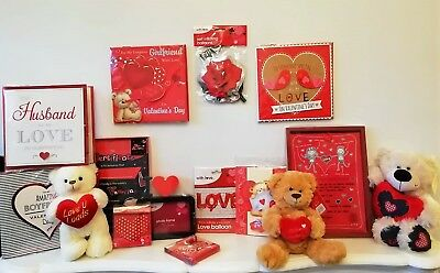 VALENTINES DAY Cute Gifts Teddy Bear Card Love Heart Certificates For Him Her
