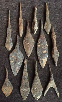 Viking ancient arrows  collection  8-12 century AD