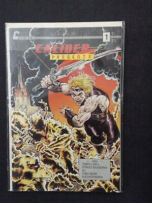 Caliber Presents #1 - 1st Appearance of the Crow NM 1989