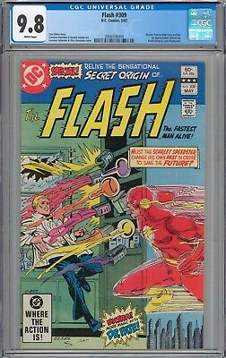 Flash #309 CGC 9.8 NM/MT WHITE PAGES