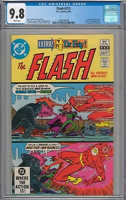 Flash #313 CGC 9.8 NM/MT 1st Appearance of Psykon WHITE PAGES