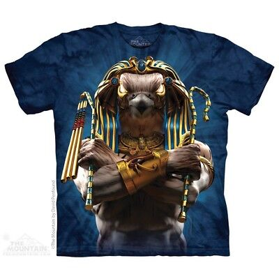 Horus Soldier T-Shirt by The Mountain. Spiritual Cultural Sizes S-5XL NEW