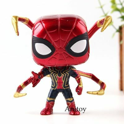 Spider Iron Infinity War Funko Avengers Pop Marvel Exclusive 287 Figure Man