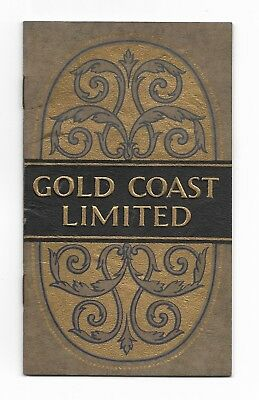 1927 Gold Coast Limited CHICAGO & NORTH WESTERN Union Pacific SOUTHERN PACIFIC