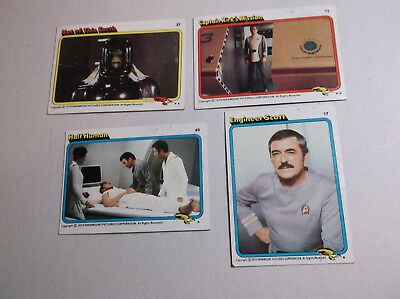 Vintage Star Trek Collector Cards 1979 Set of Four 4