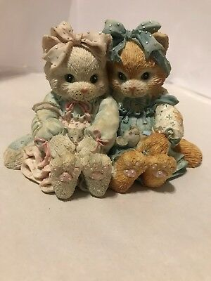 """1992 Calico Kittens Collectibles - """"We're A Purr-Fect Pair"""""""