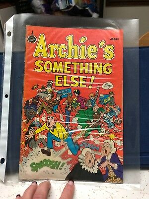 ARCHIE'S Something Else Spire Comics 1975 Hartley