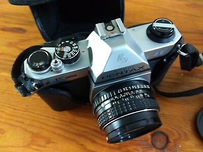 Asahi pentax k1000 camera w/original manual