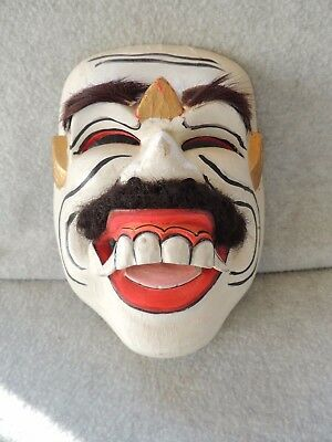 Vintage Mexican Mask of old man