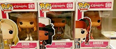 Funko POP! Movies Clueless Complete Set of 3.