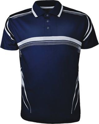 Mens Short Sleeve Polo Shirt Cool And Comfortable With Knitted Collar NW